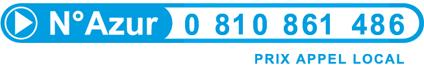 N�Azur : 0 810 861 486