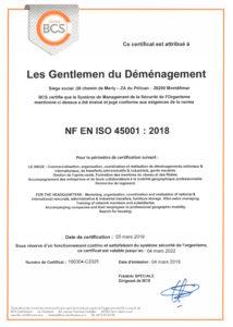 GD ISO 45001