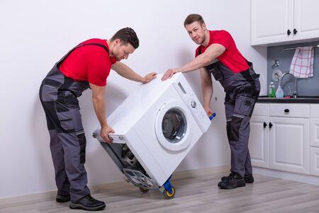 comment déménager une machine à laver