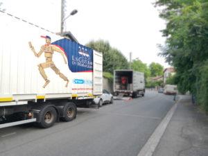 camion avec chauffeur pour déménager